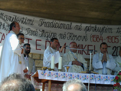 @コソボ:キリスト教の祭り