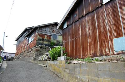 田代島の集落