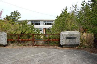 田代島の小学校